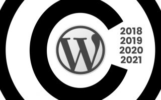 Dynamic Copyright Year Using PHP or Javascript