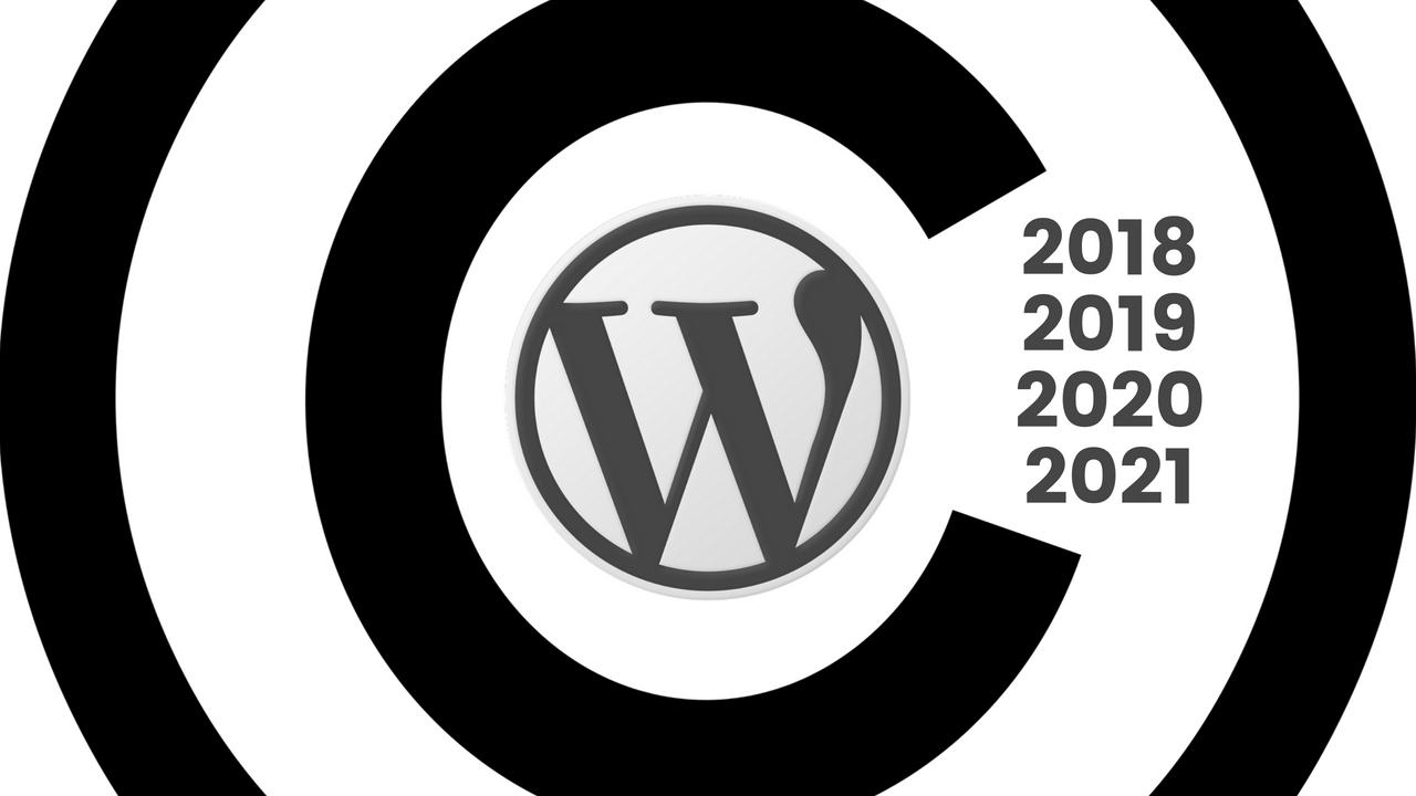 Dynamic Copyright Year