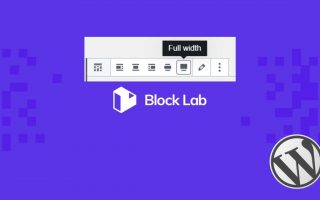 How to Add Wide and Full Align Buttons to Block Lab