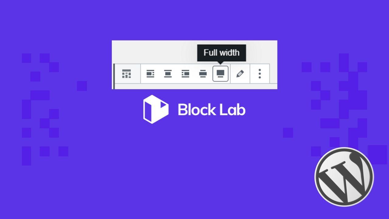Block Lab Wide Full Align