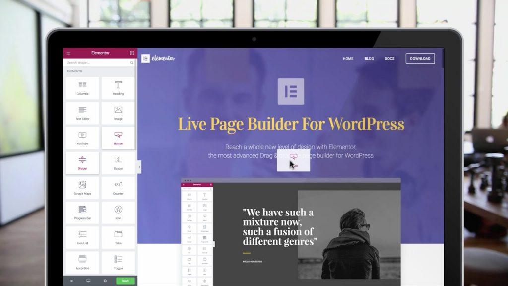 WordPress Visual Page Builders
