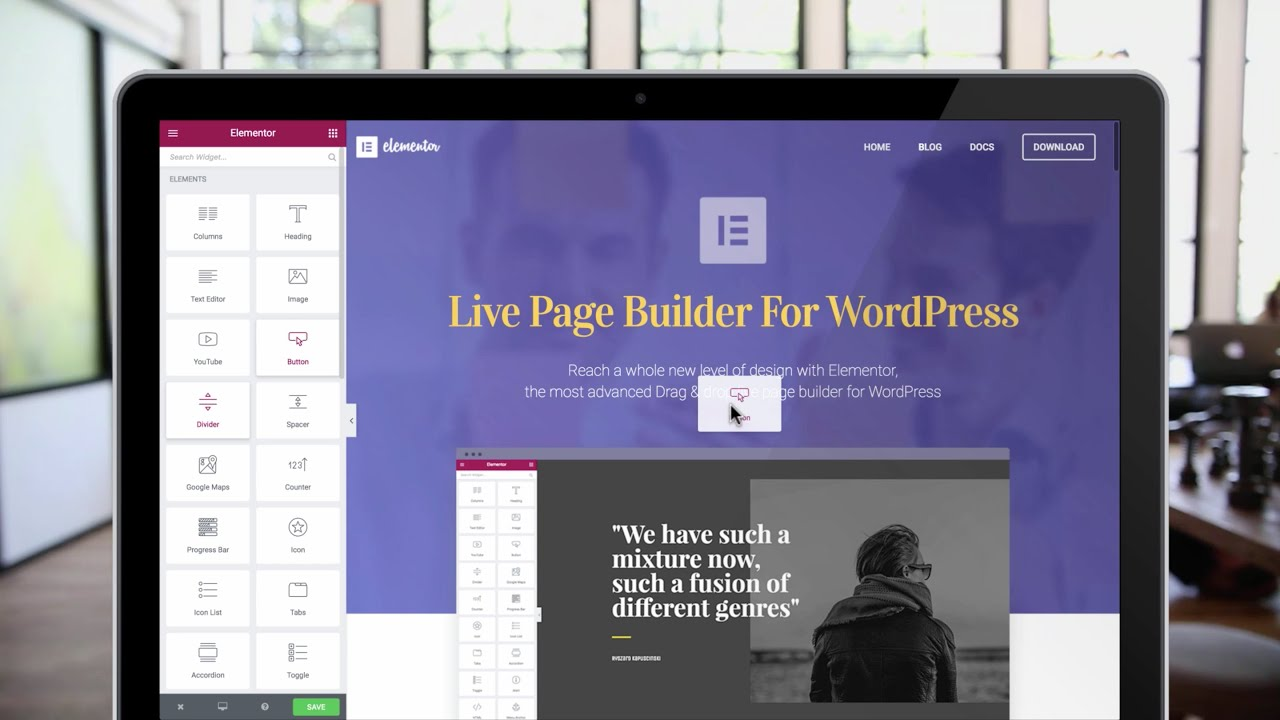 WordPress Visual Page Builders