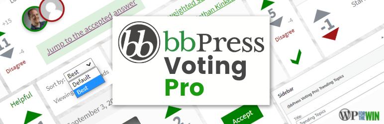 bbPress Voting Pro Banner